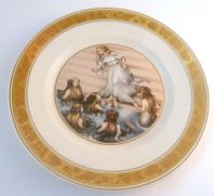 Vintage Royal Copenhagen Hans Christian Andersen The Little Mermaid Fairy Tale Plate.